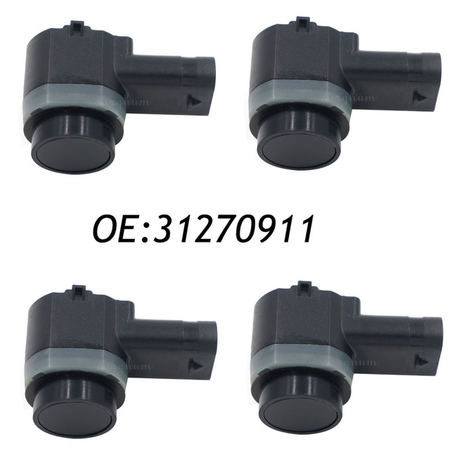 4PCS PDC Parking Sensor 31270911 31341637 30786968 Bumper Object Reverse Assist Radar For VOLVO C30 C70 XC70 XC90 S60 S80 V70
