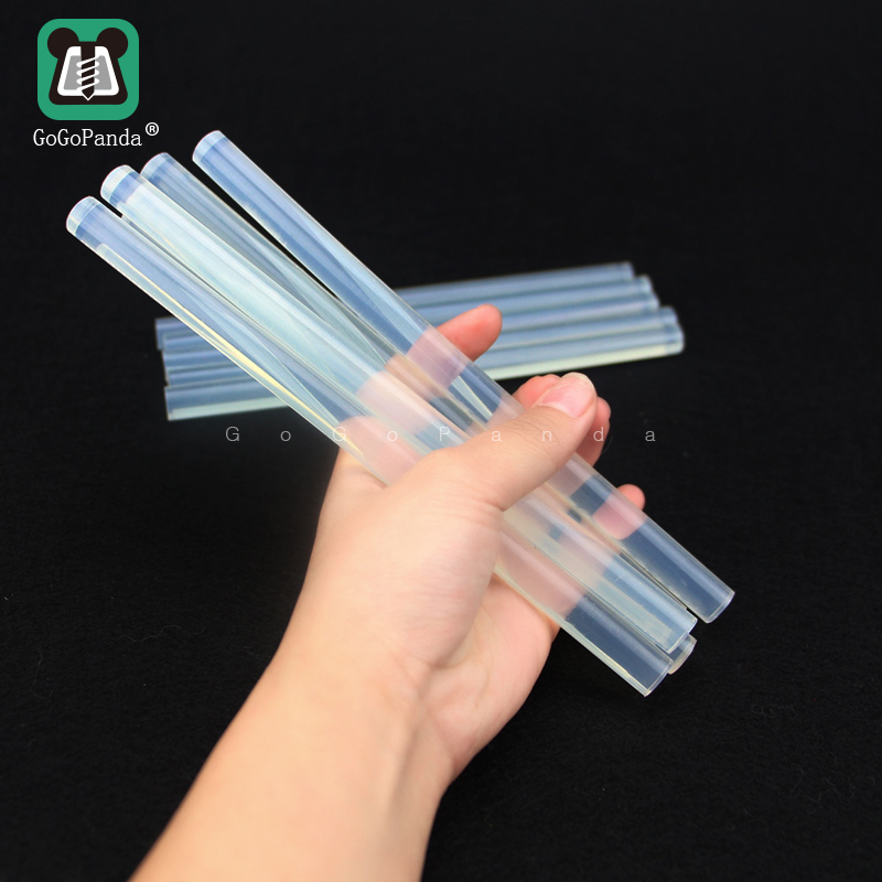 Free Shipping (10PCS/Lot) Non-Toxic Transparent 11mm X190mm 7mmx190mm Hot Melt Glue Sticks For DIY