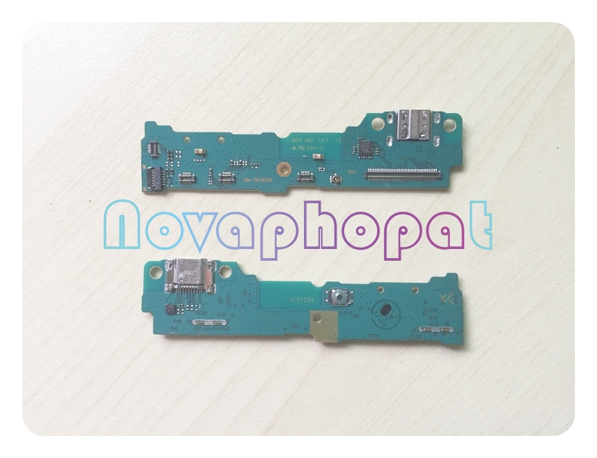 Novaphopat Charging Flex For Samsung T810 SM-T810 T815 Charger Connector Micro USB Dock Port Flex Cable Replacement