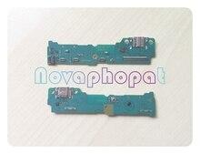 Novaphopat Lade Flex für Samsung T810 SM T810 T815 Ladegerät Stecker Micro USB Dock Port Flex Kabel Ersatz
