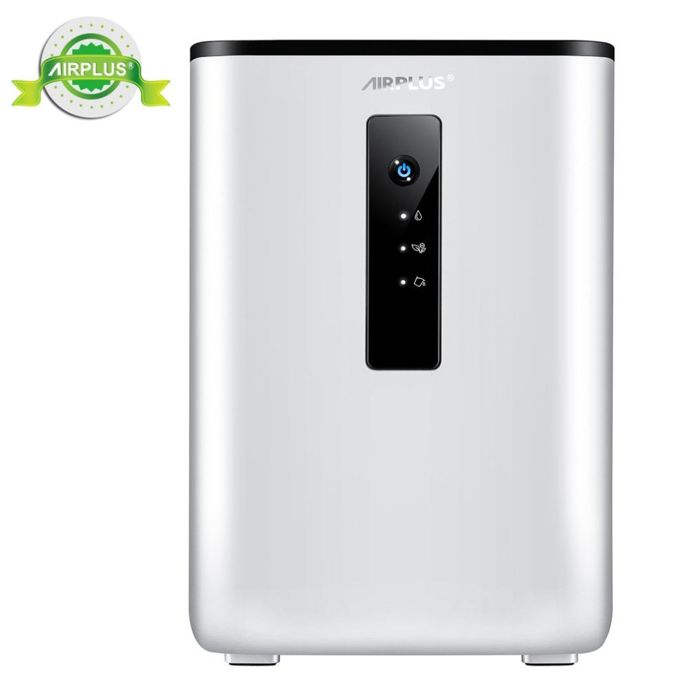 2 5L Home Air Dehumidifier 65W 110 240V Semiconductor Desiccant Moisture Absorbing Air Dryer Purify Electric