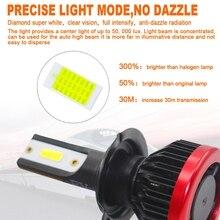 Nova H7 20000LM Chips de LED de 100 w Luz de Nevoeiro Lâmpada Do Farol Kit de Conversão Lâmpada Qualitied