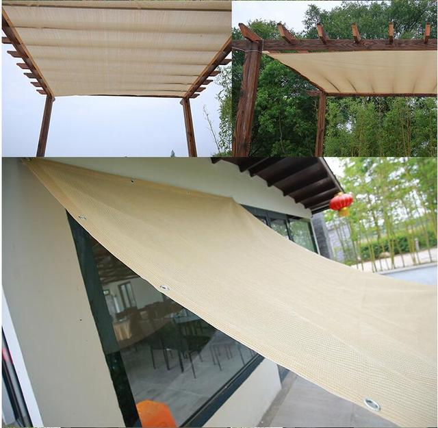 Great 4x6ft Wheat Alternative Solution For Roller Shade,Exterior Privacy Side  Shade Panel For Pergola,