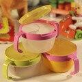 Малыш Детские 360 Поворот Влагозащищенная Bowl Блюда Младенцев Посуда Закуски Миску Пищевых Контейнеров Кормления Детей Помочь Питания