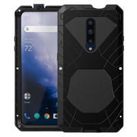 For Oneplus7 7Pro Phone Case Heavy Duty Protection Armor Metal Cover Anti-fall Aluminum Case For Oneplus 7T 7T Pro