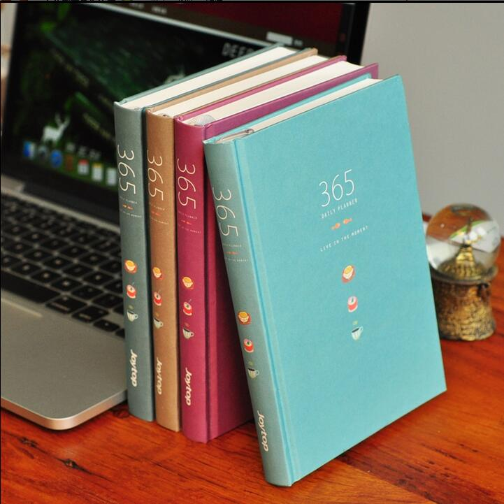 """कलर 365"" क्यूट प्लानर एजेंडा डायरी हार्ड कवर वार्षिक मासिक अध्ययन दैनिक नोटबुक स्टेशनरी उपहार"