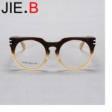 New gradient color frame round flat myopia