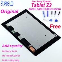 Oryginalny wyświetlacz LCD do tabletu Sony Xperia Z2 SGP511 SGP512 SGP521 SGP541 VVX10F034N00 wyświetlacz LCD ekran dotykowy Digitizer SGP551 SGP561