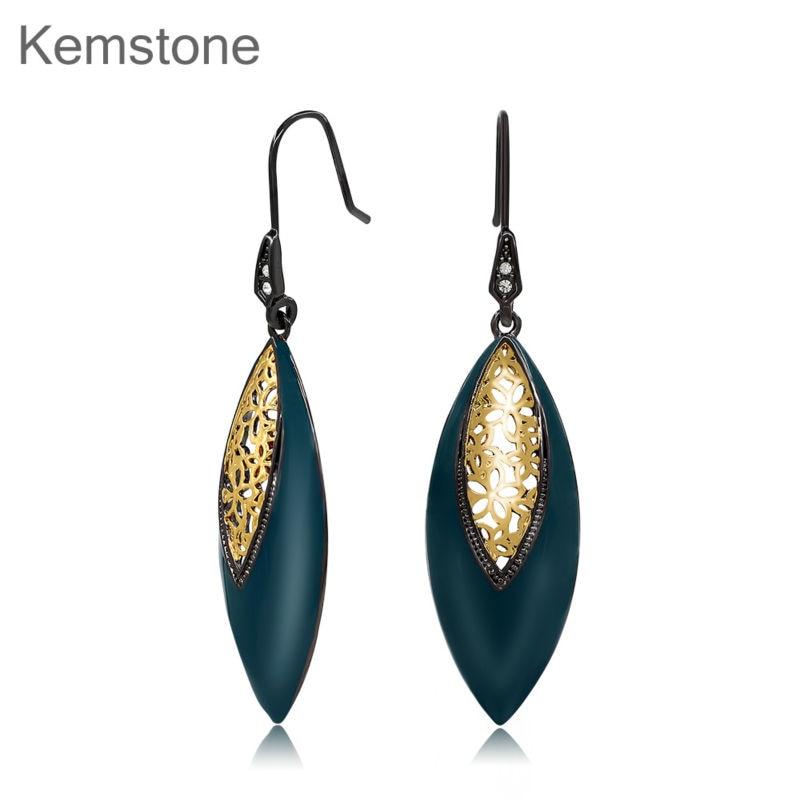 Kemstone Vine Drop Dangle Earrings WMZ1VRANNQ