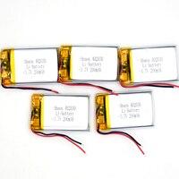 100 шт 3,7 V 200 mAh литий полимерный аккумулятор Перезаряжаемые Батарея 402030 Li Po литий ионный для gps Bluetooth MP3 MP4 MP5 часы 042030
