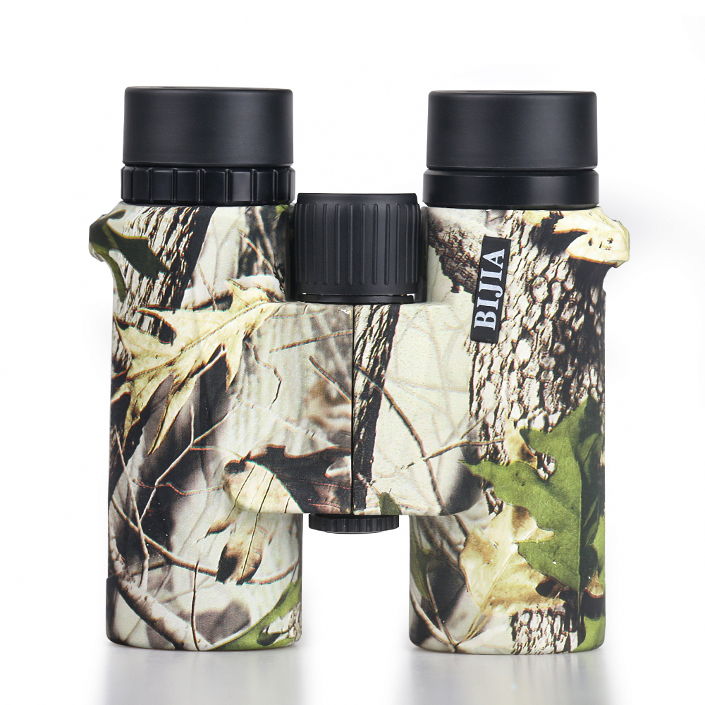 BIJIA Military HD <font><b>8x32</b></font> <font><b>Binoculars</b></font> Professional Hunting Telescope High Quality Vision BAK4 Army Camouflage color image