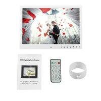 Digitale Fotolijst 12 Inches Elektronische Frame Front Touch Knoppen Pictures Muziek Video Spelen Voor Home Office Gebruik Perfect Gift