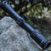 HTEN 2 8 10X40 Tactical Air Rifle Optic Spotting Scopes Green Film Sighting Self Extinction Cylinder
