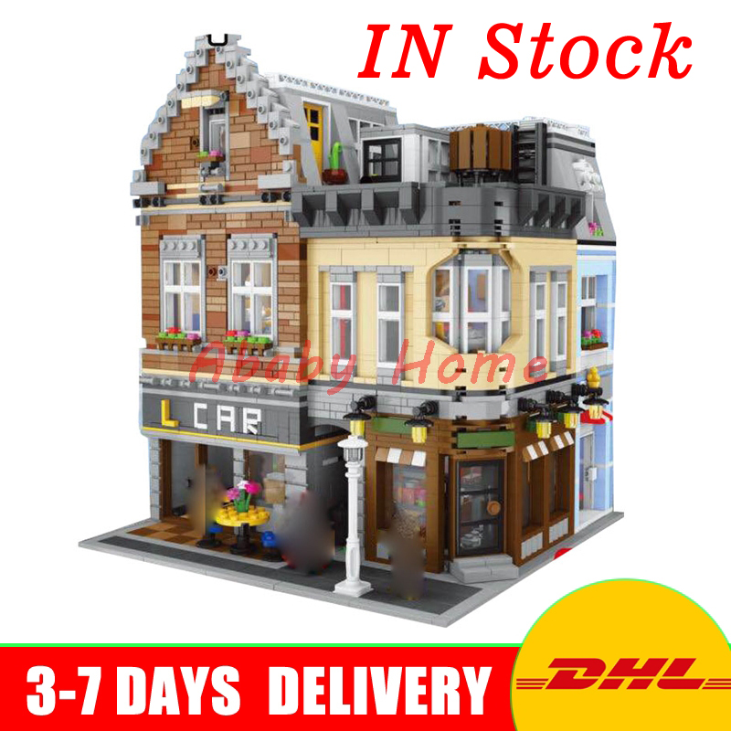 2017 IN Stock Lepin 15034 4210Pcs The New Building City Set Building Blocks Bricks Educational Toy Model As Christmas Gifts new in stock zus64815