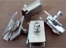 Reprap 3D printer accessories heated bed glass clamp clip