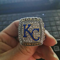 Wholesale High Quality 2016 Kansas City Royals world series Championship ring  Baseball solid Sport Wedding ring