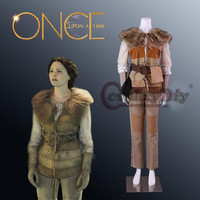 Cosplaydiy Once Upon a time 2 Snow White Cosplay Costume Mary Margaret Blanchard Outfit Women Costumes For Halloween Custom Made