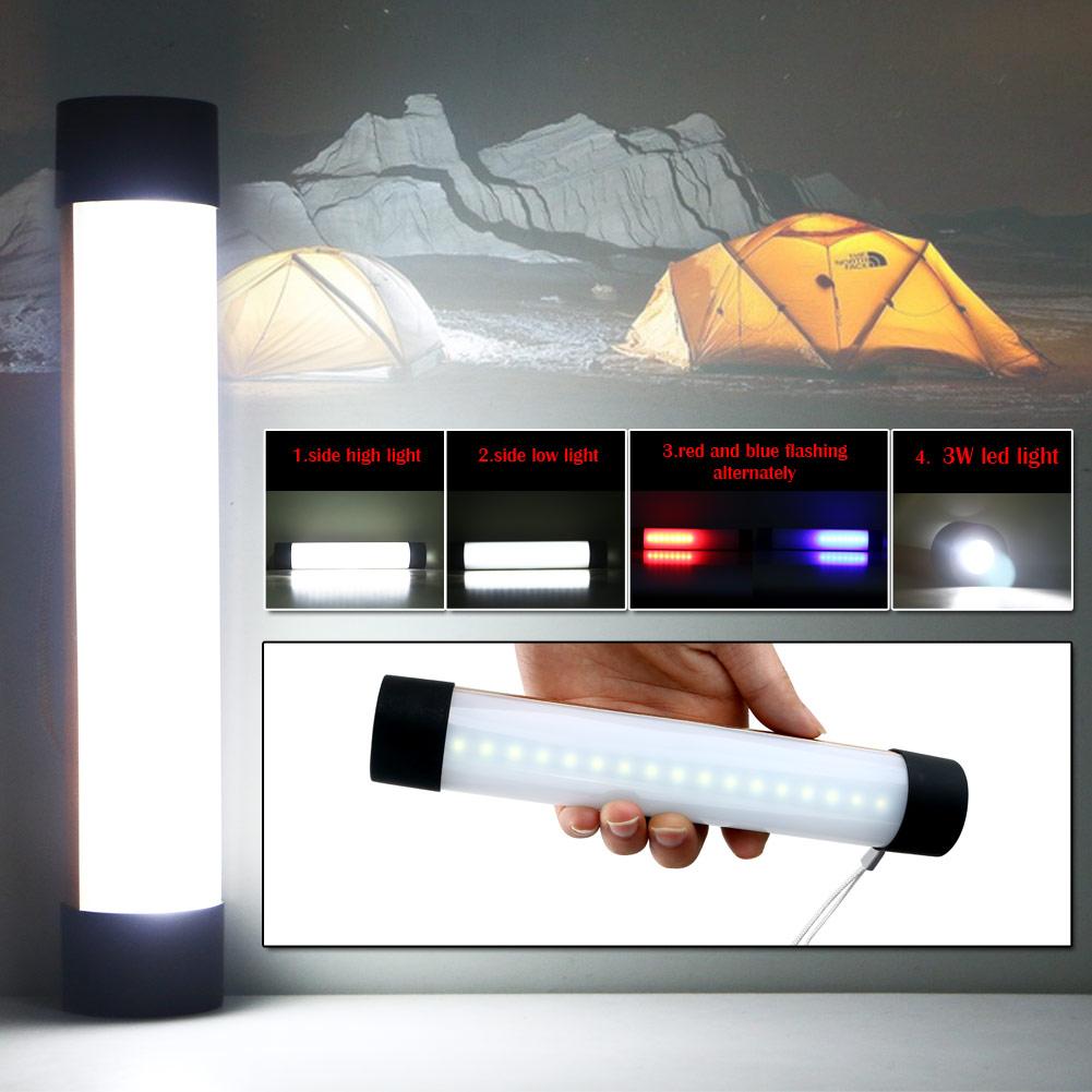 Rechargeable 3W 33 LED Flashlight Work Light Strong Magnetic 4 Mode Mini Pen Flashlight Camping Mini Light Lamp Torch