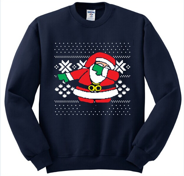 Navy Blue Mens ugly christmas sweater 5c64c1130a7b4