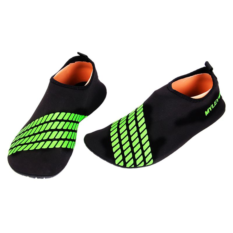 Men Women Barefoot Striped Shoes Beach Pool GYM Water Skin Socks A