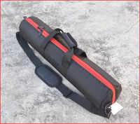 50 55 60 65 70 75 80 cm sac de trépied de lumière épaissie rembourré caméra monopode trépied étui de transport avec bandoulière Studio trépieds