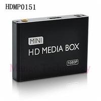 2019 mini HDMI Media Player 1080P HDD HDMI Full HD TV Video multimedia player box support MKV/RM SD/USB/SDHC/MMC Free Shipping