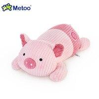 Gốc metoo plush thú nhồi bông pig comfortable gối mềm doll bé trẻ em đồ chơi cho cô gái và chàng trai chiều dài 45 cm chiều rộng 21