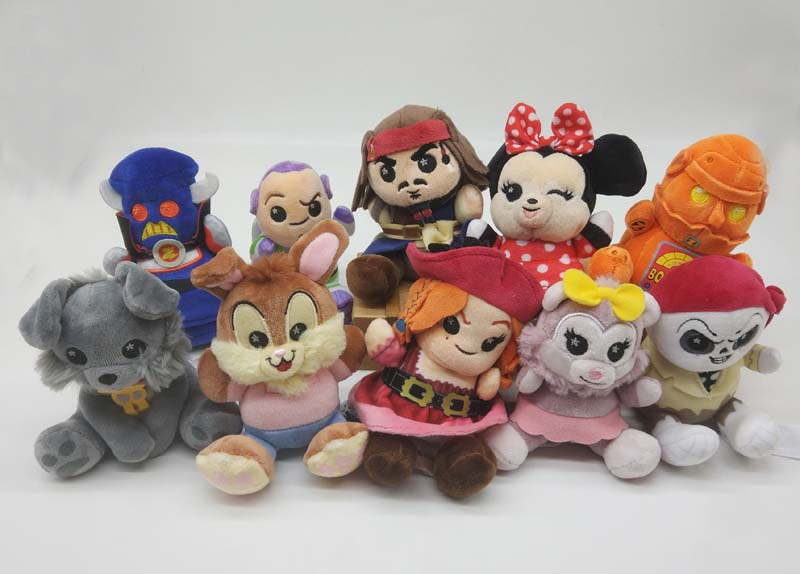 PIXAR Wishables Mystery Plush Pirates Of The Caribbean Toy Story Attraction Series