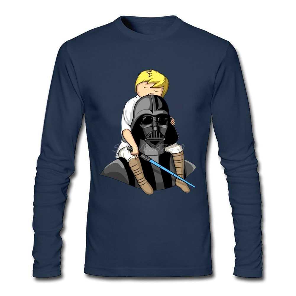 8e34cb38c ... Top Number One Dad Darth Vader Star Wars T Shirt Plain Men's Clothes  O-neck ...