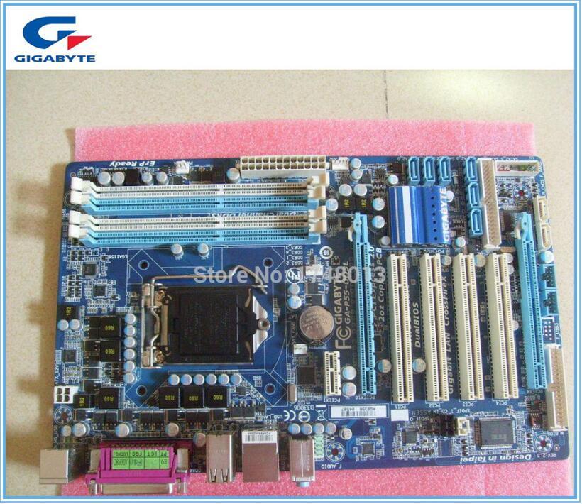 Gigabyte ga-p55-ud3l Оригинал материнская плата DDR3 LGA1156 доски P55-UD3L плата P55 рабочего Материнская плата