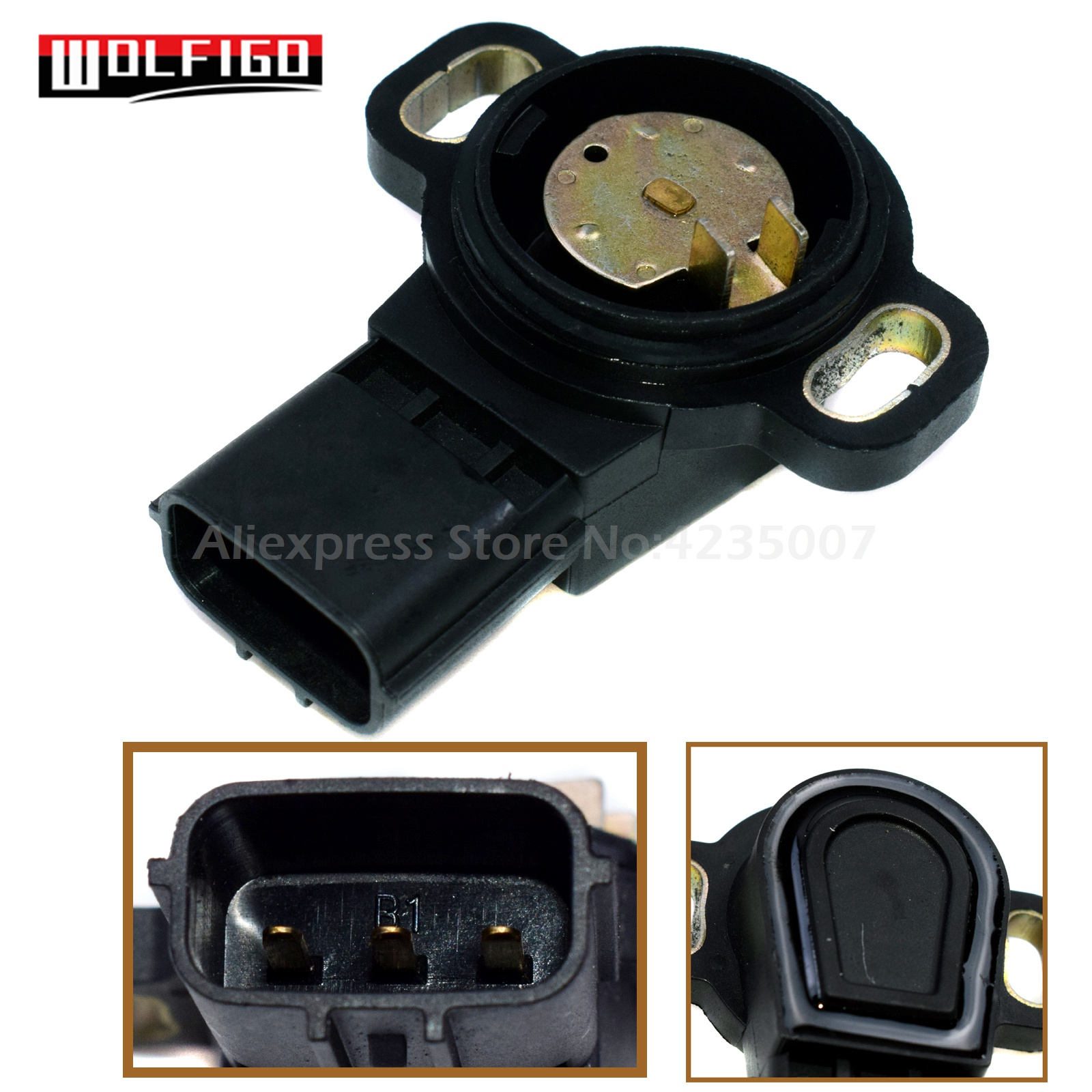 Universal Throttle Position Sensor For Ford Lincoln Mercury 3L5Z9B989AA TH381 !