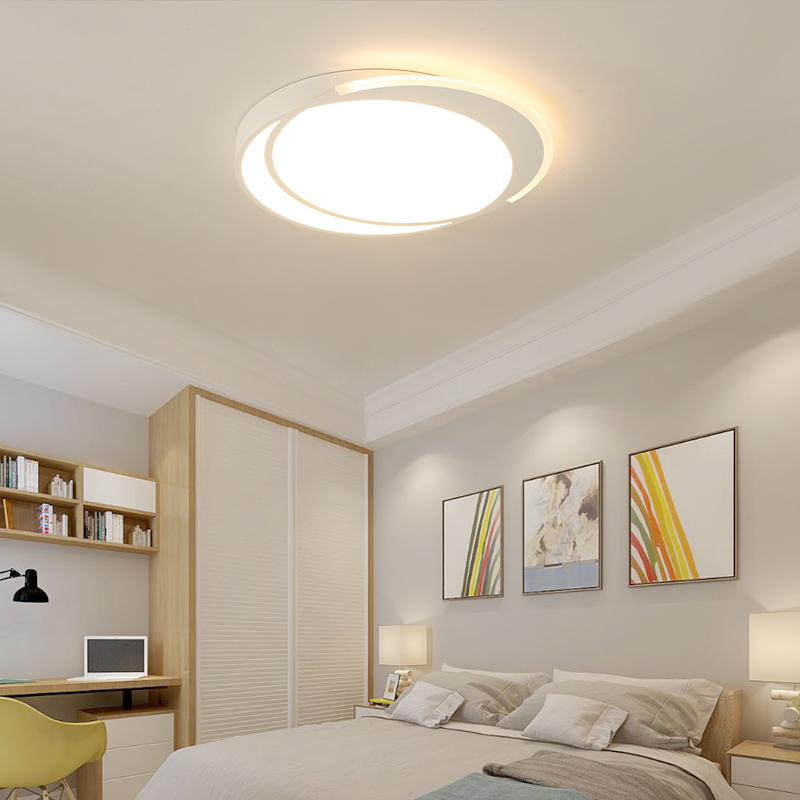 Round modern led ceiling chandelier for living room bedroom dining room study acrylic + iron led chandelier lamp fixturesRound modern led ceiling chandelier for living room bedroom dining room study acrylic + iron led chandelier lamp fixtures