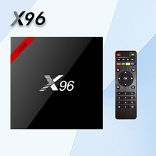 NEW! Original X96 Android 7.1 TV BOX Quad core Amlogic S905W 2GB 16GB Set Top Box 2.4GHz WiFi HDR10 17.4 Smart Media Player