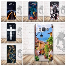 Case for Samsung Galaxy A5 A500 Phone Cases Silicone Back 3D Relief Printing Back Case Cover for Samsung A5 2015 Soft TPU Bag