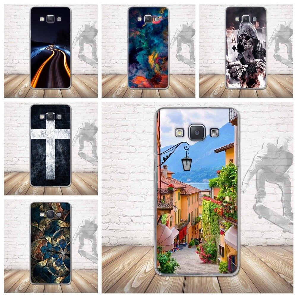 Case para samsung galaxy a5 a500 teléfono casos de silicona de nuevo 3d impresió