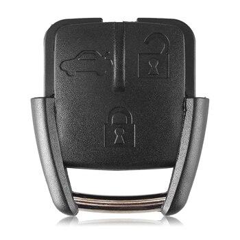 Chiave Telecomando per Chevrolet Key Shell Fob With Battery Holder 1