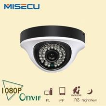 """MISECU HD 2.0MP Onvif P2P 1080 P Cámara domo IP de interior de 360 grados 1/2. 7 """"sensor ABS 36 unid IR Cut Cámara de Visión Nocturna cctv XMEye"""