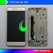 5 Original Display For Huawei Honor 4C Pro TIT-L01 LCD Touch Screen Digitizer Assembly with Frame For Huawei Y6 Pro LCD Display original 15 inches ltm150xs l01 lcd screen warranty for 1 year