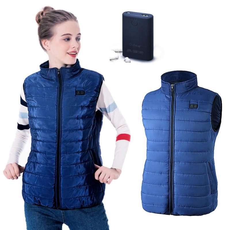 Открытый оборудования USB электрическое отопление и теплая куртка-пуховик зарядки и отопления одежда из хлопка