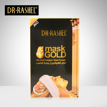 2 pcs 24 K Gold Collagen Facial Mask Powder Anti Wrinkle Aging Whitening Skin Care 300 g DRRASHEL
