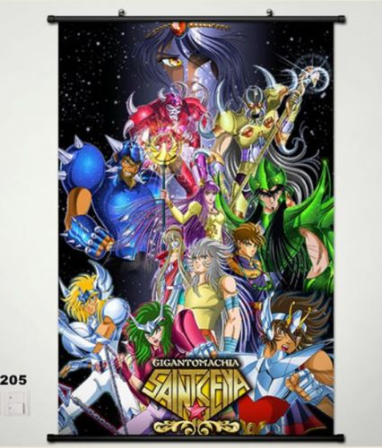 Saint seiya saint cloth myth gemini saga home decor poster wall scroll janpa 205 in painting - Decor saint seiya myth cloth ...