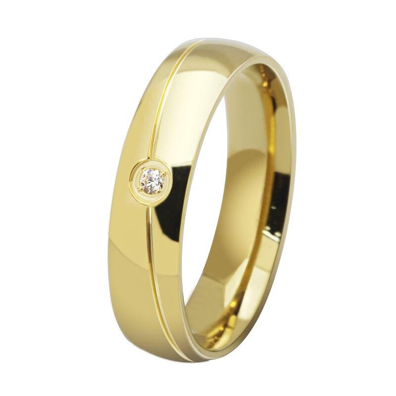 Ring Titanium Steel Ring Unusual Design Styles Ring Single Crystal ...