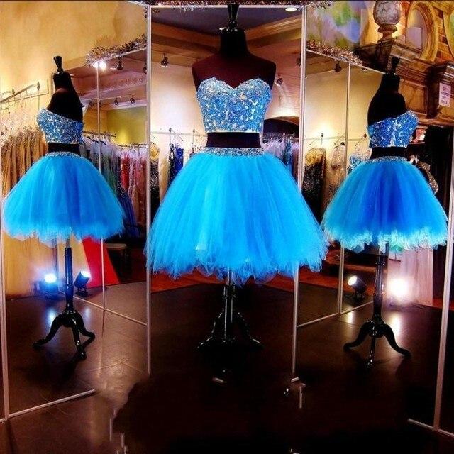 b06b397de4 Vestidos de graduacion de sexto grado azul turquesa - Vestidos ...