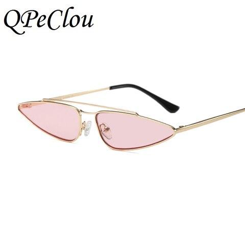 QPeClou Modern Style Small Water Drop Shaped Sunglasses Women Fashion Cat Eye Sun Glasses Female Brand 2018 New Eyewear UV400 Islamabad