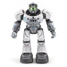 Boy Rc Robots Programmable Auto Follow Smartwatch Sing Dance Gestures Sensor Intelligent Induction Remote Rc Robot Toys Animals