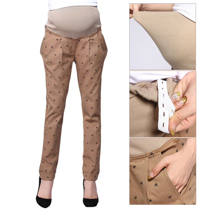 Maternity Work Pants Pregnancy Pants Extender Maternity Office Wear Clothing Fashion Maternity Trousers Adjuster Premama Clothes Pants Capris Aliexpress