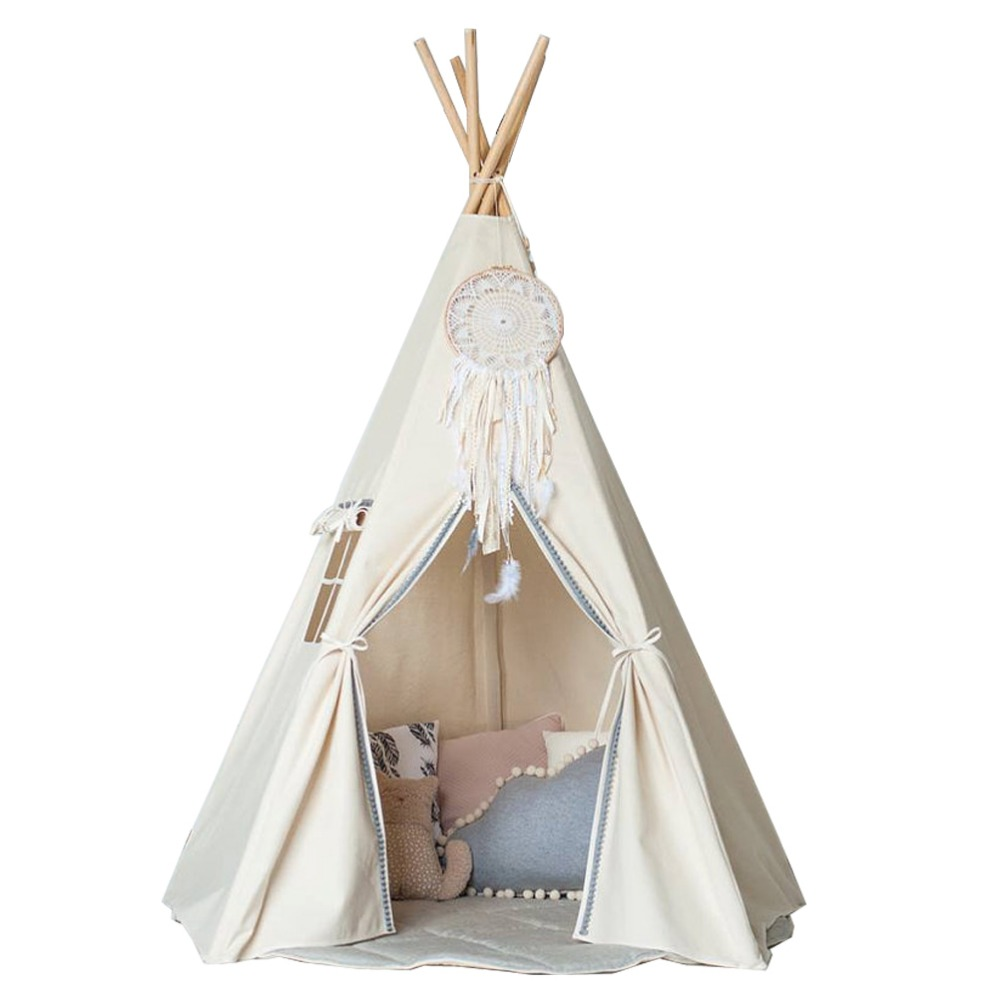 Free Love Indian Style Kids Play Tent Indian Teepee