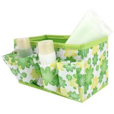 BF040 Fashion Multifunctional Portable Travel Storage Bag Small broken flower storage box free shipping in Storage Boxes Bins from Home Garden