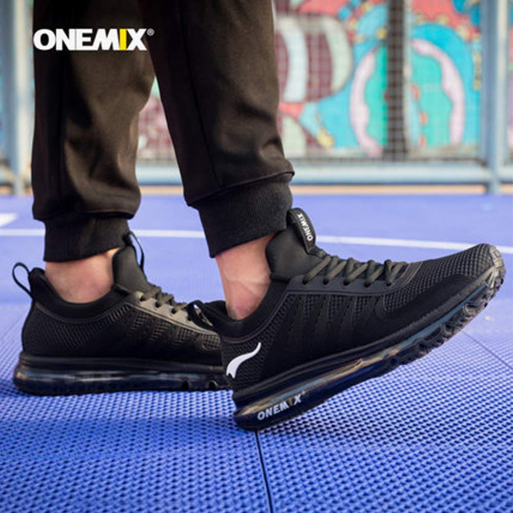 ONEMIX Men Running Shoes Fashion Casual Outdoor Jogging Air Cushioning Gym Fitness Sneakers Max 12 16