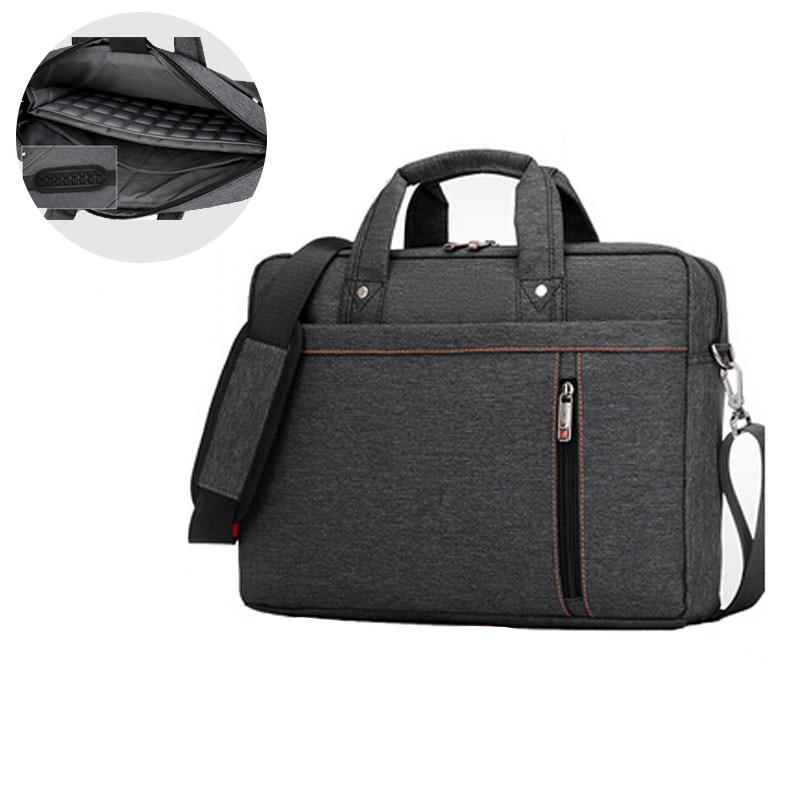 12 13 14 15 17 Inch Big Size Nylon Computer Laptop Bag Solid Notebook Tablet Bags Case Messenger Shoulder Unisex Men Women